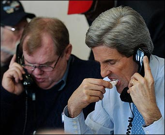 john kerry eating