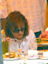 susan sarandon eating