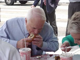 john mccain eating