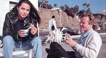 angelina jolie eating