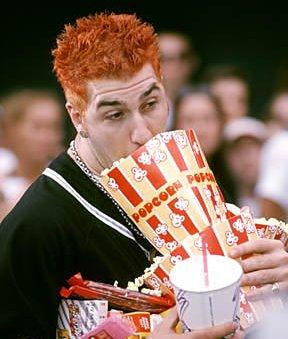 joey fatone eating