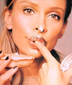 calista flockhart eating