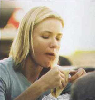 cameron diaz eating