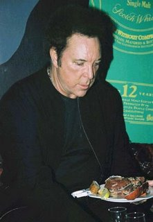 Tom Jones eating