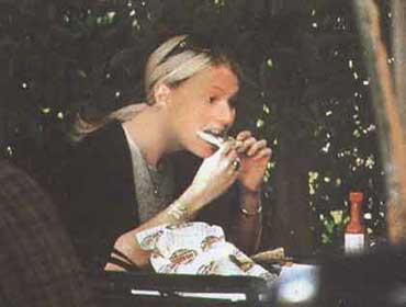 gwyneth paltrow eating