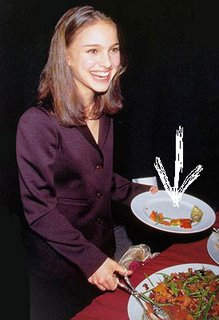 natalie portman eating