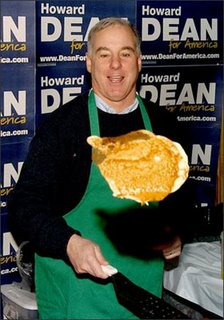 howard dean eating